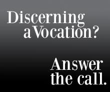 Discerning a vocation?