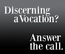 Discerning a vocation?
